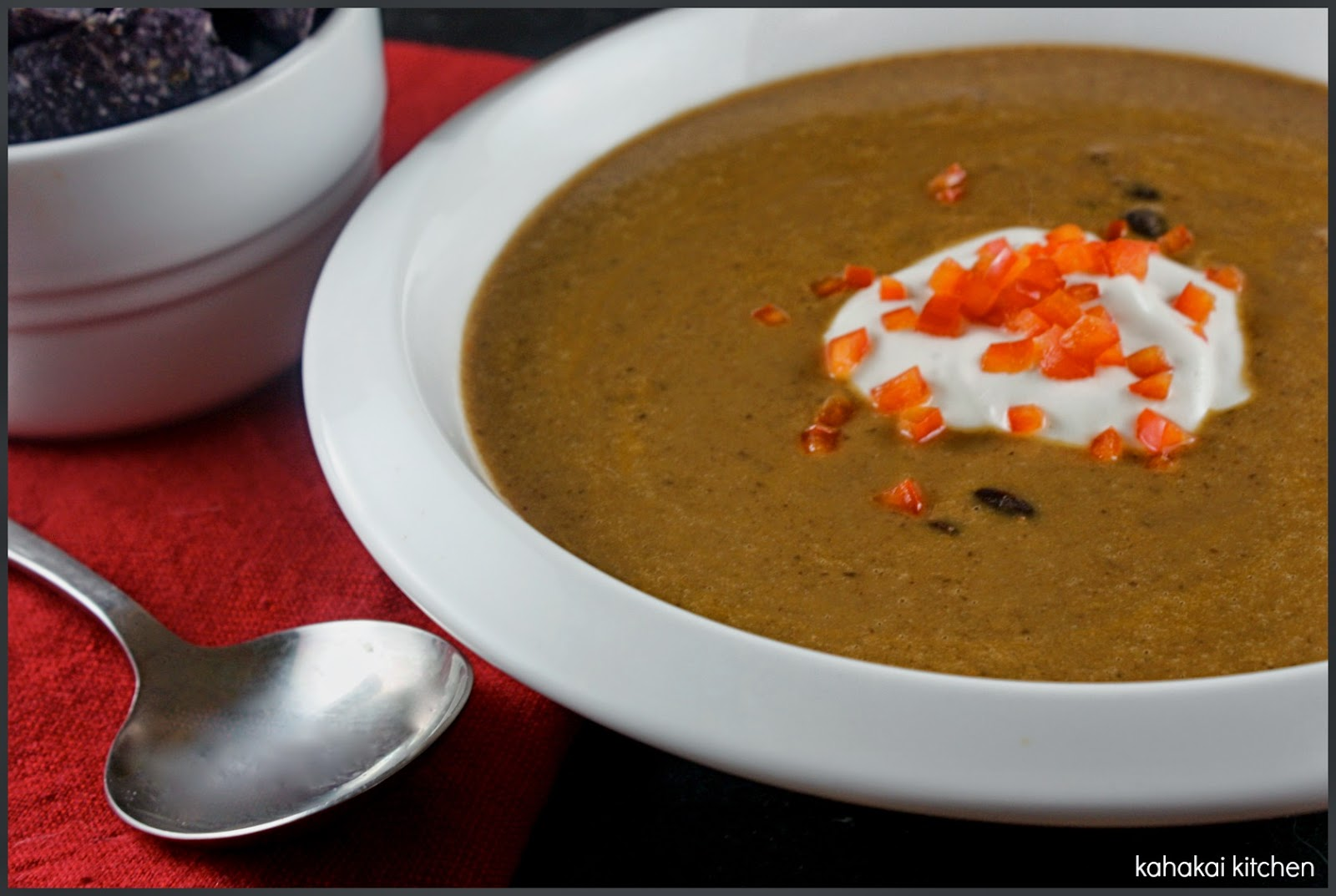 Cuban Black Bean Soup with Cashew Sour Cream (& a Special Ingredient ...