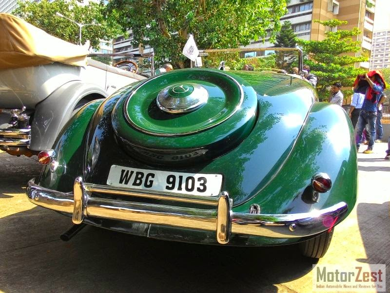 mercedes classic car rally mumbai 2014