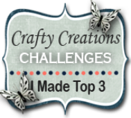 "TOP 3 Crafty Creations op 10-10 2018 (#375) ""Koolmeesjes"""