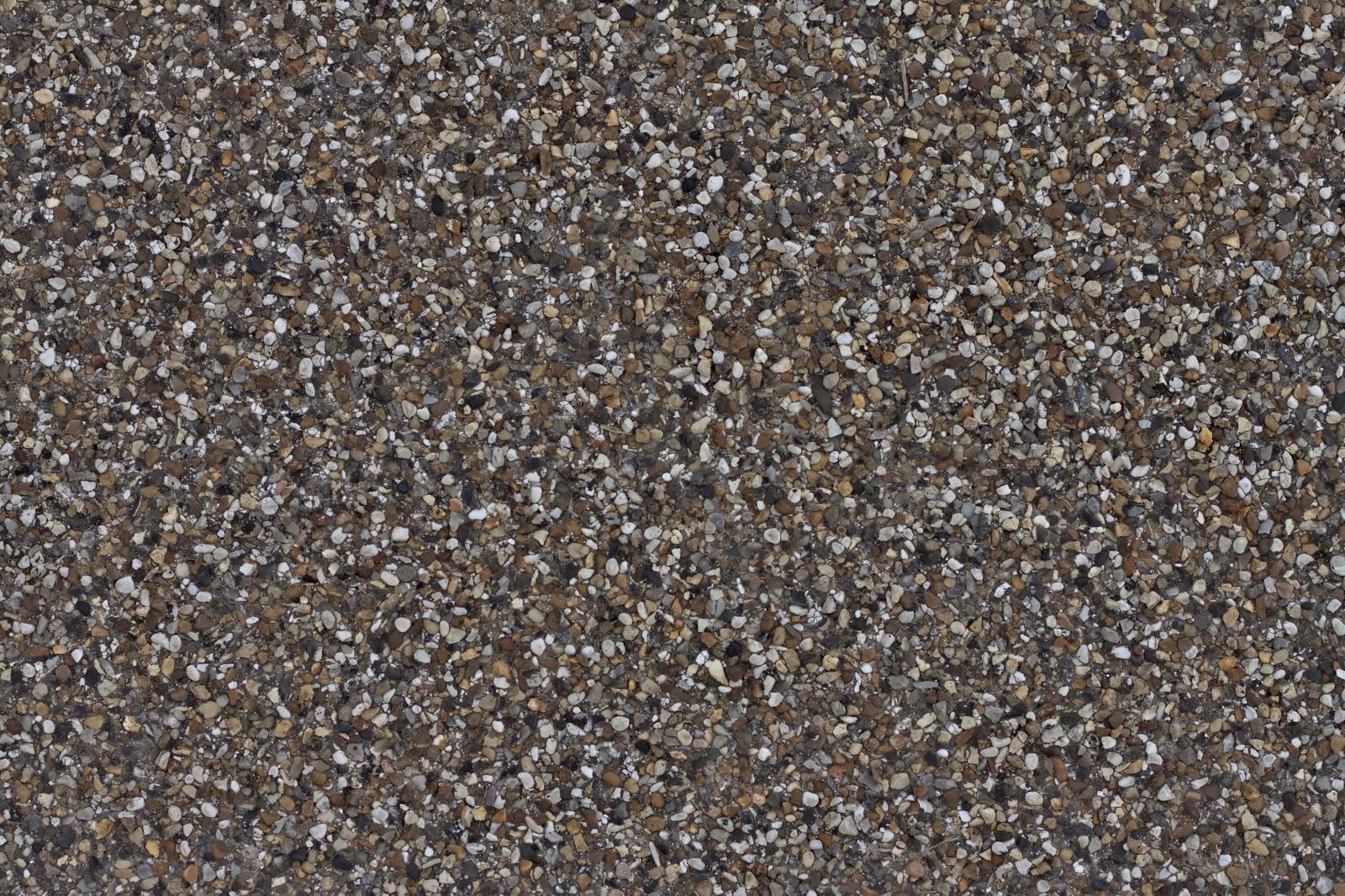 Pebblestone cobble ground gravel floor walkway texture ver 1