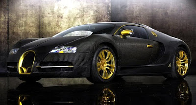 Bugatti-Veyron-Black-Airbrush-Front-Side