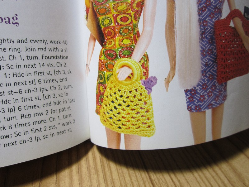 Knitting And Crochet Books : ... Dolls at Vans Doll Treasures: Barbie Knitting and Crochet Books