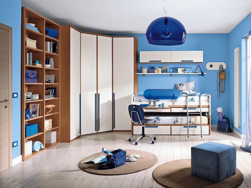 Habitaciones infantiles para dos ni os ideas para - Dormitorios dobles para ninos ...