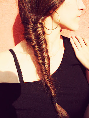 tresse fishtail braid épi de blé tuto