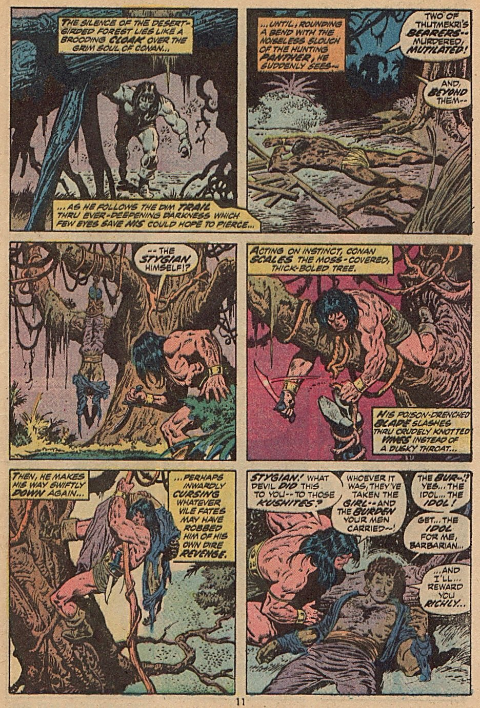 Conan the Barbarian (1970) Issue #28 #40 - English 9