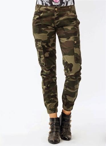 Model Celana Army Untuk Cewek/Wanita Terbaru 2017/2018