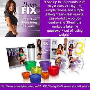 21 Day Fix Eating & Exercise Plan
