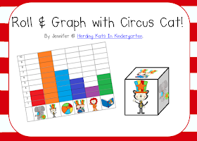 http://www.teacherspayteachers.com/Product/Circus-Cat-Roll-Graph-Activity-1127623