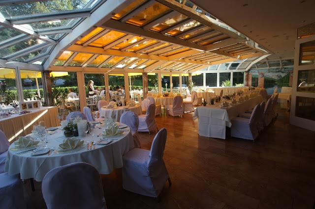 Sommergarten im Riessersee Hotel Resort in Garmisch
