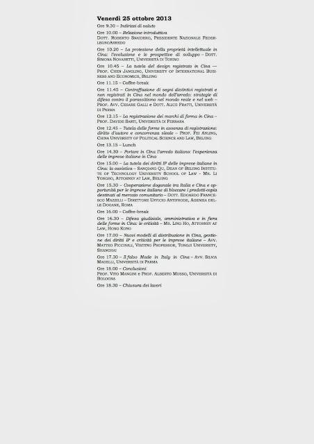 Archivio internazionale associazione italiana di diritto for Camera di commercio italiana in cina