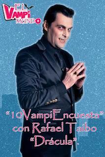 que le hagamos preguntas a los actores del elenco de Chica Vampiro ...