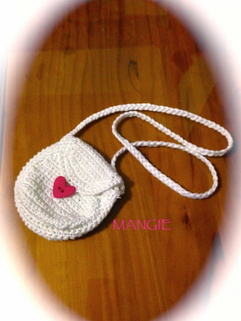 Mini bolso a crochet