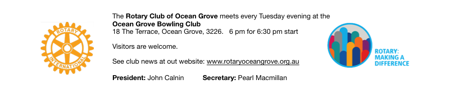Rotary Club of Ocean Grove Inc.