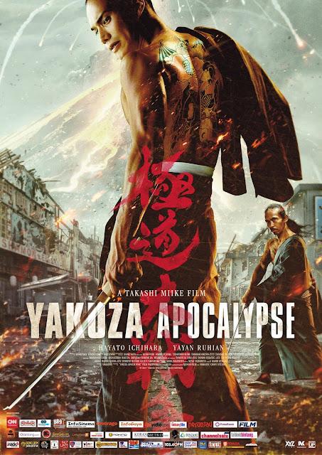Yakuza Apocalypse poster film