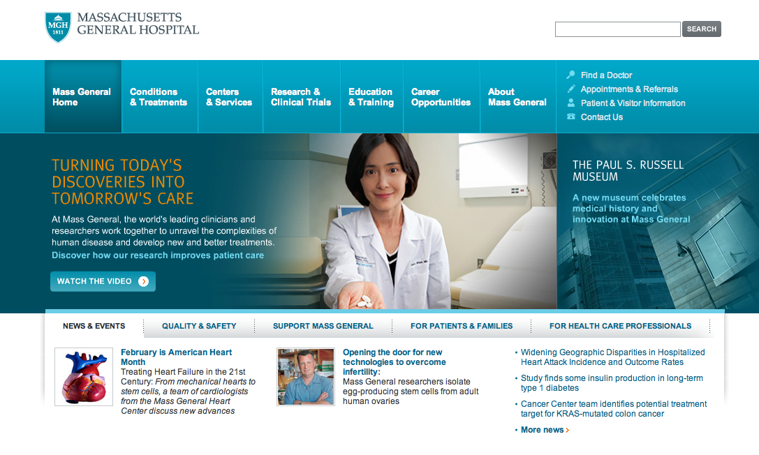 The Best And Not So Great Hospital Website Designs