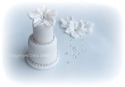mini wedding cake lusso swarovski