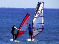 Windsurfing lessons at Pozo Izquierdo