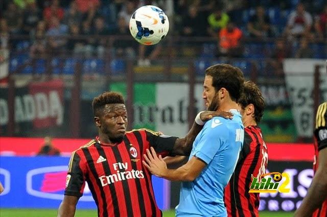 مشاهدة مباراة ميلان ونابولي اليوم السبت 8/2/2014 AC Milan vs Napoli