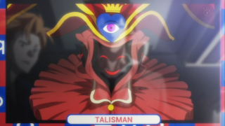 Ayano tells everyone about the Talisman avatar @ Rewriting Life