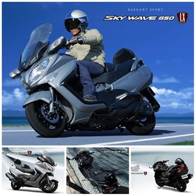 New Suzuki SkyWave 650