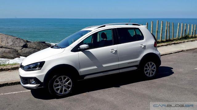 VW Fox 2016 - teste