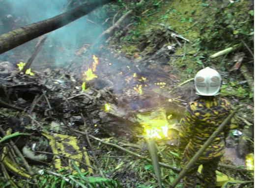 Helikopter Terhempas Di Semenyih 4 April 2015