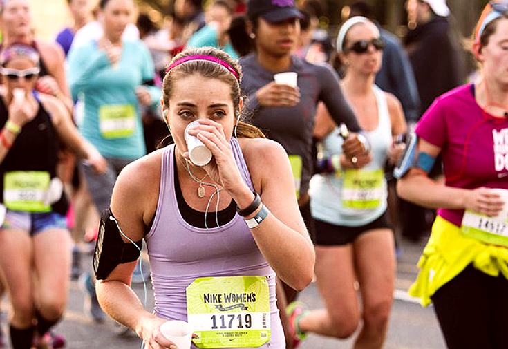 always hydrate while staying active.
