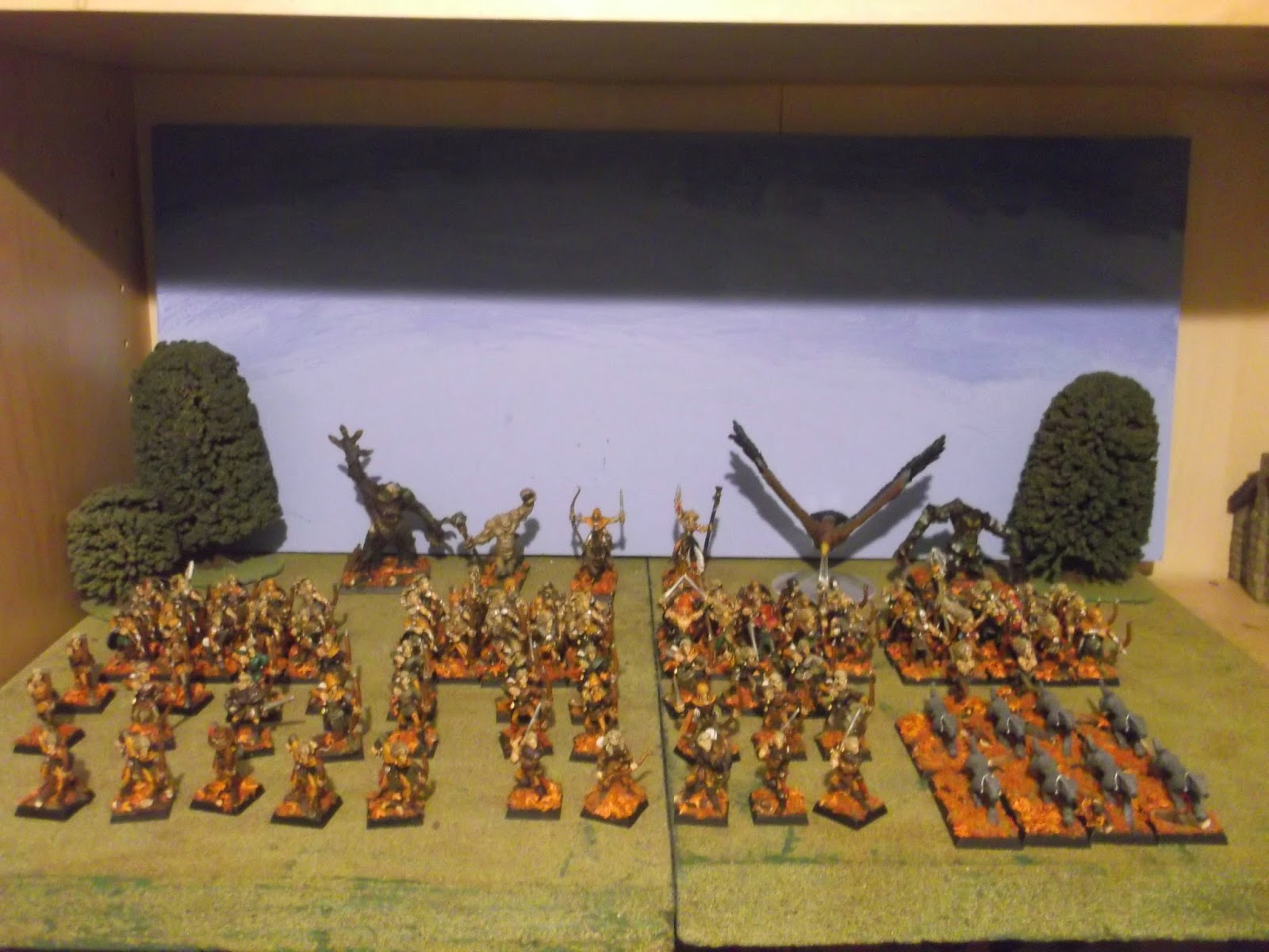 The Wood Elf Host: Looking at the Warhammer Fantasy Battle 3rd Edition Wood Elf Army list.