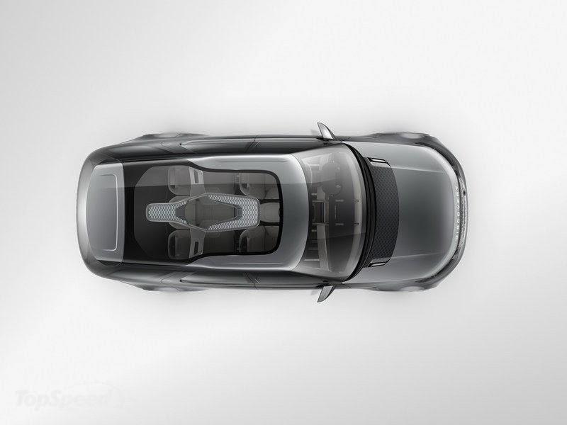 Land Rover teto transparente