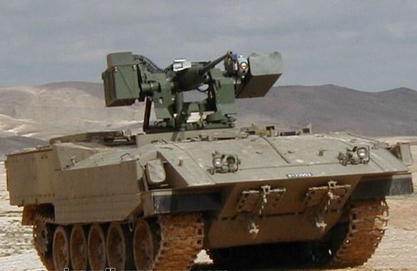 Takut Pada Pasukan Al Qassam, Kendaraan Lapis Baja Baru Israel Gunakan Sistem Canggih