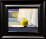 """Apple on Windowsill"""