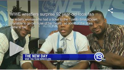 New Day BIG E POWER Xavior Woods Langston Kofi Kingston video message