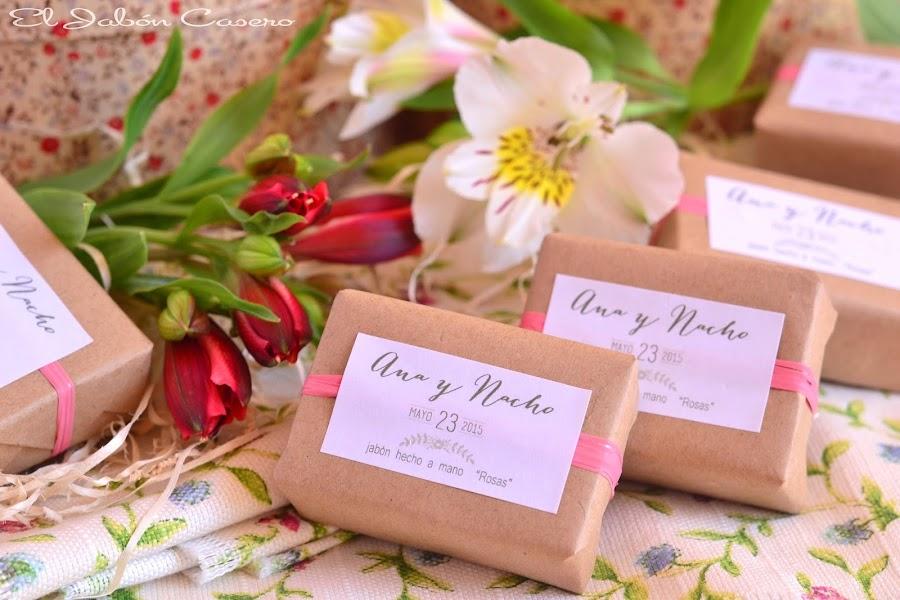 detalles de boda jabones naturales de rosas