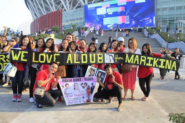 AlDub Nation at the Philippine Arena