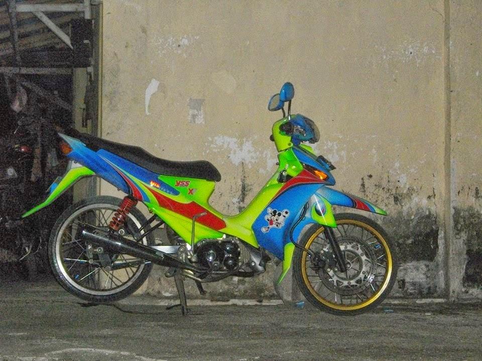 modifikasi motor yamaha vega zr 2010