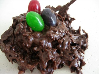 Show Tell Share: Coconut Chocolate Nests