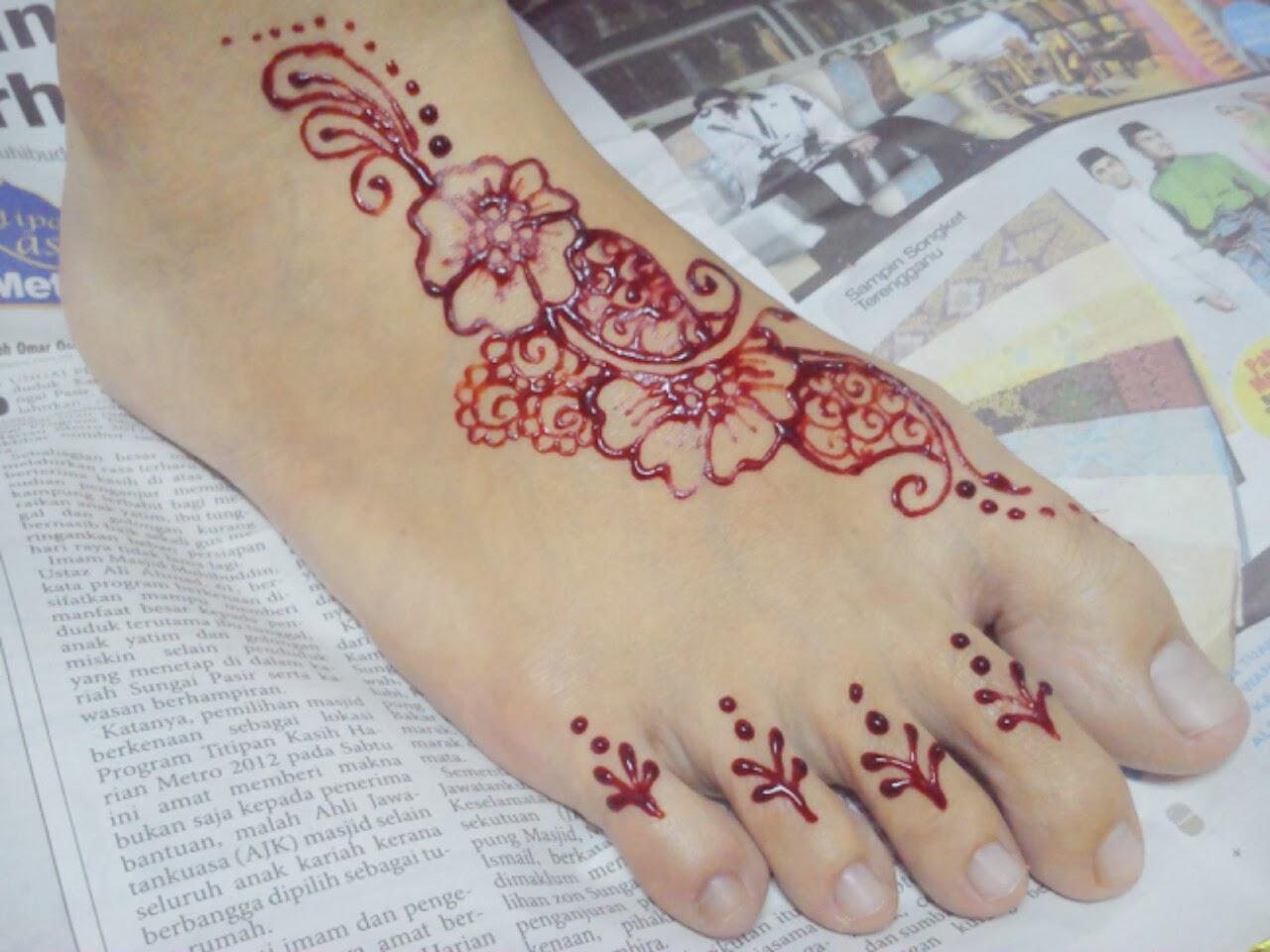 Ikha Henna Artist Inai Tradisional VS Moden January 2014