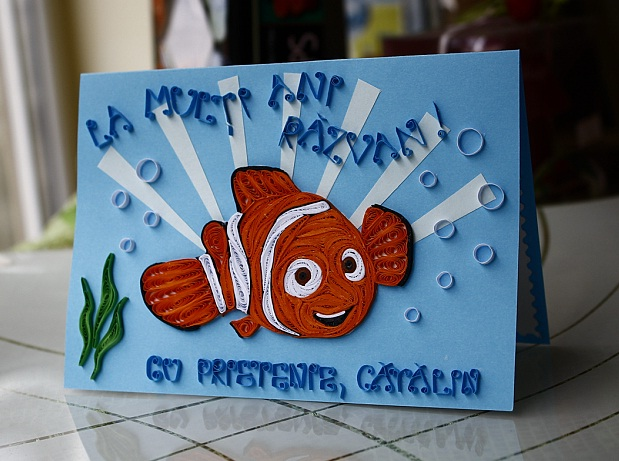 Pap rvil g N m nyom ban Finding Nemo – Finding Nemo Birthday Cards