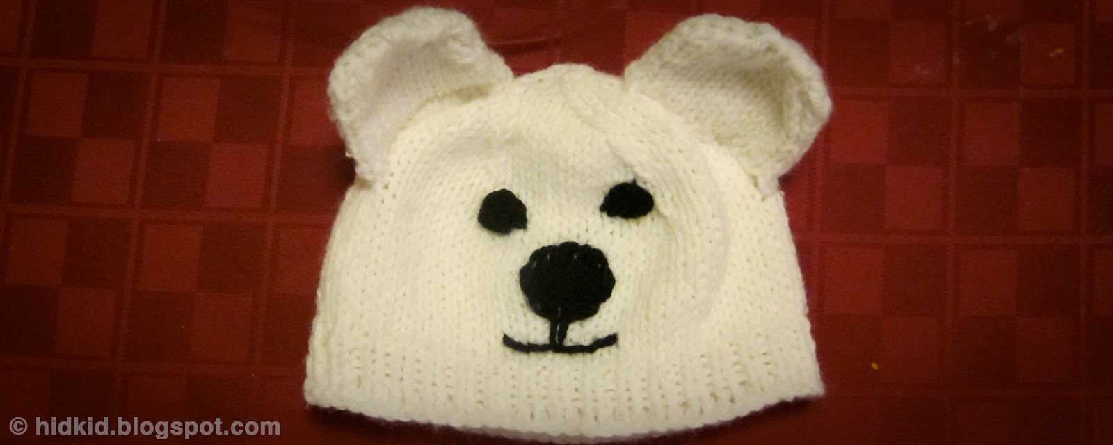Craftimism: Polar Bear Knit Hat