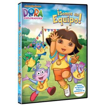 DVD Dora somos equipo