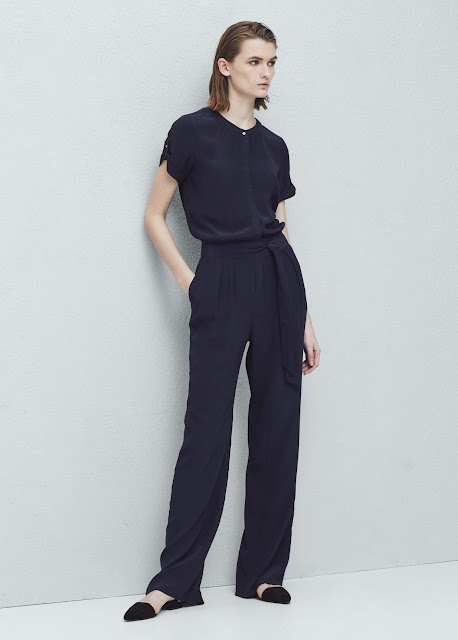 mango black t-shirt jumpsuit, black t-shirt jumpsuit,
