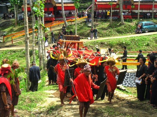 Toraja going home