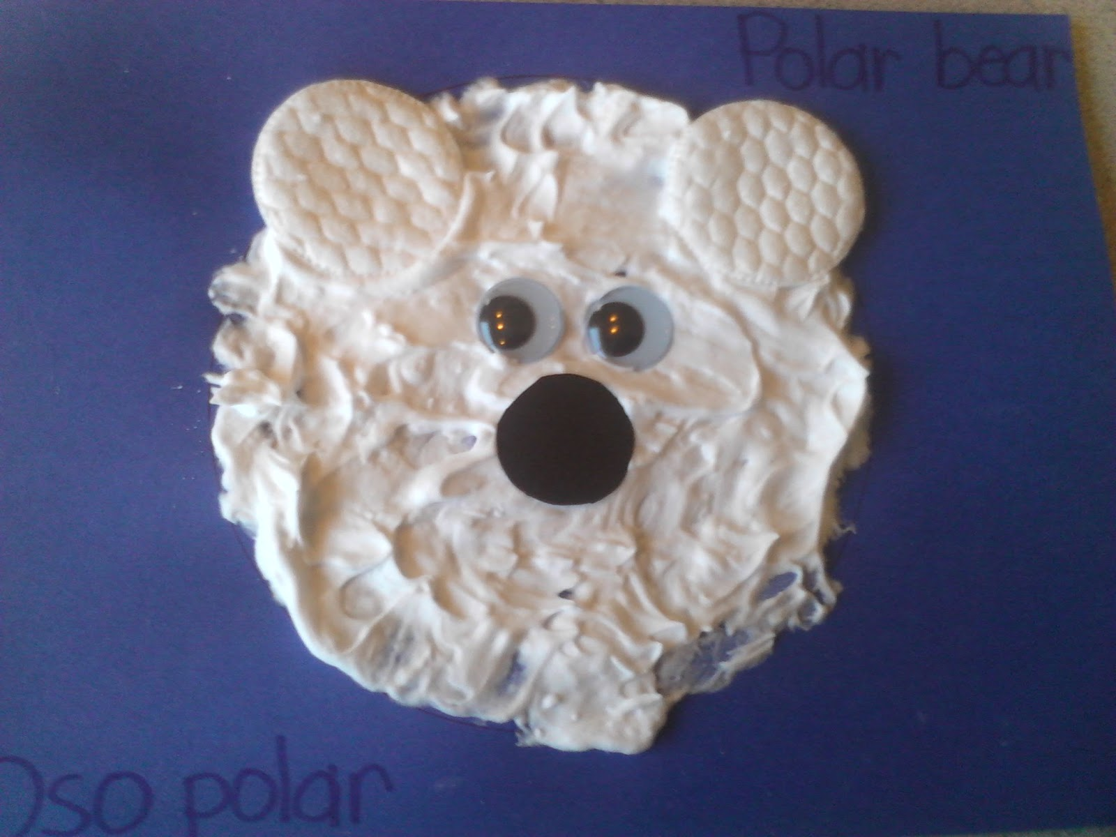 polar bear crafts for preschoolers preschool polar craft 976