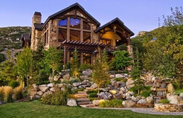 Fachadas de casas r sticas fachadas de casas diferentes - Casa de madera rustica ...