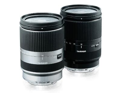 sony nex tamron e-mount lens 18-200