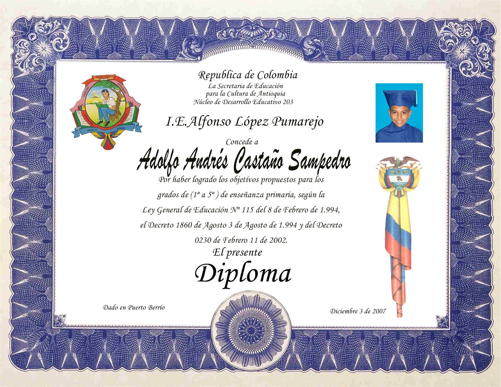 Imagenes De Diplomas