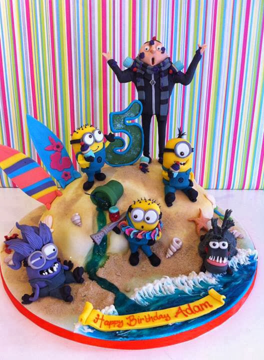 Birthday Cake Despicable Me
