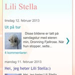Sjekk Lili Stellas blogg