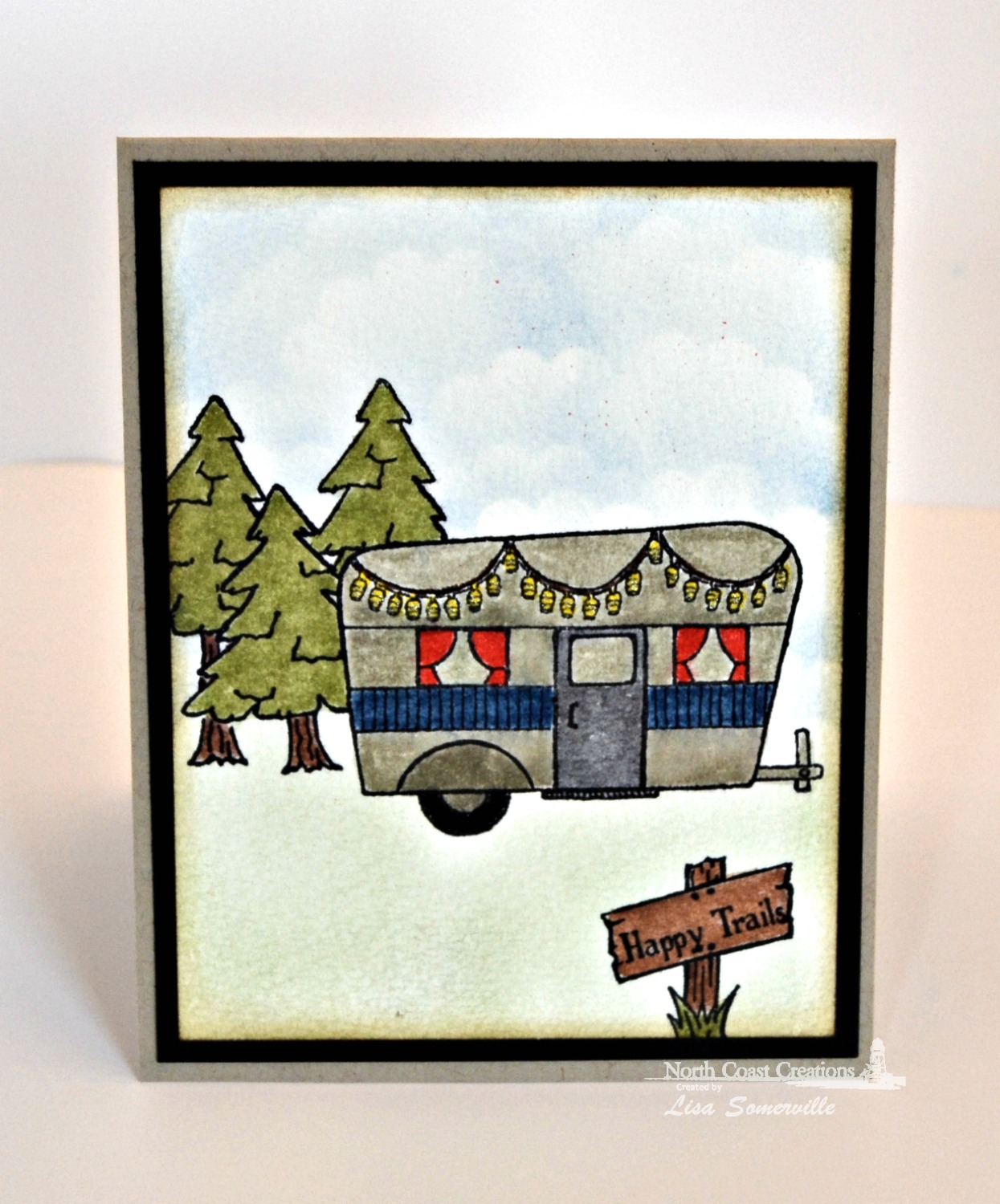 Stamps - North Coast Creations Happy Camper