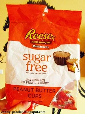 Czekoladki z masłem orzechowym Reese's, bez cukru